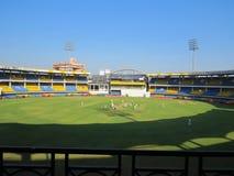 Syrsastadion Indien Fotografering för Bildbyråer
