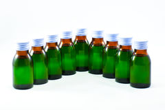 Syrup. The syrup of drug for children Stock Photos