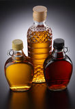 Syrup. Variety syrup on the gray background stock photography