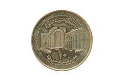 Syryjski Ñ  oin 10 funtów 2003 Obrazy Stock