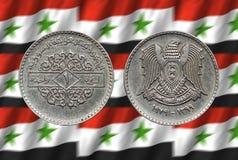 Syryjski Ñ  oin 1 funt Obraz Royalty Free