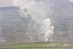Syryjski miasto Kuneitra Zdjęcia Royalty Free