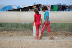 Syryjskie dziewczyny Fotografia Royalty Free