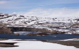 Sysen Dam Reservoir, Norway Royalty Free Stock Photos