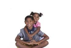 syskon royaltyfri foto