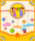 Syskongrupp i Raksha Bandhan Arkivbilder