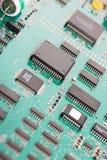 système électronique de panneau Images stock
