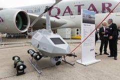 Système aérien téléguidé d'Airbus Tanan Images stock