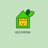 Système amical d'eco Photo libre de droits