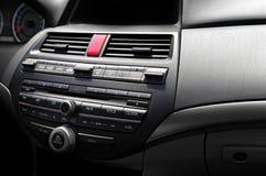 Système audio de luxe de voiture images libres de droits