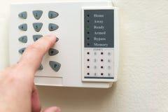 Système d'alarme à la maison Photo stock