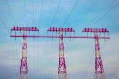 Système d'alimentation d'énergie Photo stock