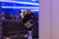 Système d'appareil-photo de réalité virtuelle de 360 degrés Photographie stock