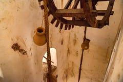 Système d'approvisionnement en eau en Amer Fort, Inde Image libre de droits