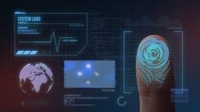 Système d'identification de balayage biométrique d'empreinte digitale Nationalité des Etats fédérés de Micronésie