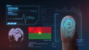 Système d'identification de balayage biométrique d'empreinte digitale Nationalité du Burkina Faso