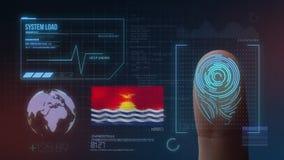Système d'identification de balayage biométrique d'empreinte digitale Nationalité du Kiribati