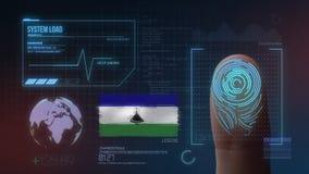 Système d'identification de balayage biométrique d'empreinte digitale Nationalité du Lesotho