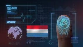 Système d'identification de balayage biométrique d'empreinte digitale Nationalité du luxembourgeois