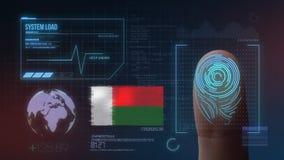 Système d'identification de balayage biométrique d'empreinte digitale Nationalité du Madagascar