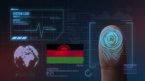 Système d'identification de balayage biométrique d'empreinte digitale Nationalité du Malawi