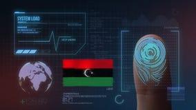 Système d'identification de balayage biométrique d'empreinte digitale Nationalité de la Libye
