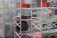 Système de étagère modulaire photos stock