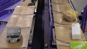 Système de bagages d'aéroport clips vidéos