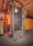Système de chauffage entier de maison Image stock