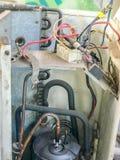 Système de circuit électronique de climatiseur Photo stock