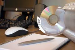 Système de classement CD Image libre de droits