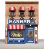Système de coiffeur illustration stock