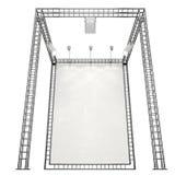 Système de construction en métal Photographie stock