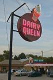 Système de crême glacée de la Reine de laiterie Image libre de droits