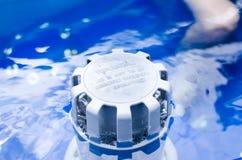 Système de filtration dans le baquet chaud photos libres de droits