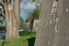 Système de fortification de rno de ¡ de Komà photos stock