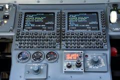 Système de gestion de vol Images libres de droits