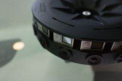 Système de l'installation 360 VR de Multi-appareil-photo Images stock