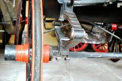 Système de la suspension de roue photographie stock libre de droits