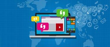 Système de messagerie SME d'entreprise Photo stock