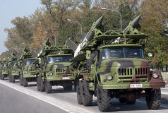 Système de missiles sol-air SA-3 Goa Photographie stock
