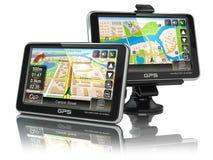 Système de navigation de GPS Photographie stock
