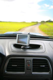 Système de navigation satellite Image libre de droits