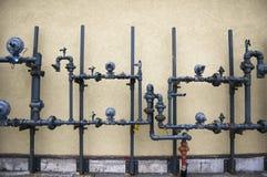 système de pipe abstrait de fond photo stock