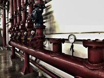 Système de protection contre l'incendie images stock