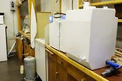Système de purification d'eau d'équipement photo stock