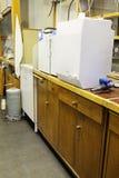 Système de purification d'eau d'équipement image stock