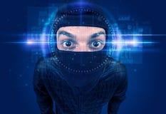 Système de reconnaissance faciale images libres de droits