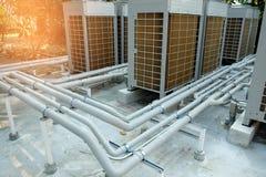 Système de refroidissement de tuyau Photo stock
