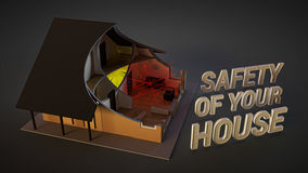 Système de sécurité à la maison Image libre de droits